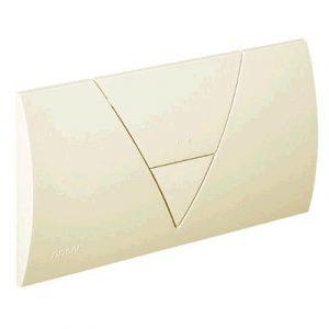 Кнопка Visign for Life 1 Viega 8310.1 для смыва, пластик, пергамон/камея  265х135
