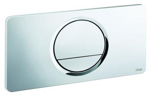 Кнопка Visign for Style 13 Viega 8333.1 для смыва, пластик, хромированная 271х140