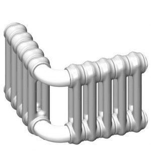 Радиаторы Multicolonna DeLonghi трубчатые, угловые