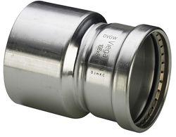 Пресс-фитинги из нержавеющей стали VIEGA Sanpress Inox серия 2000 для стальных нержавеющих труб
