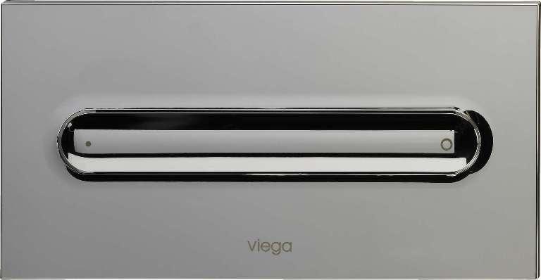 Кнопка Visign for Style 11 Viega 8331.1 для смыва, пластик, хромированная 271х140