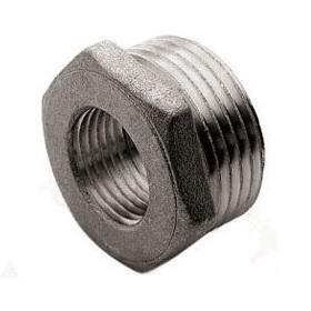 Футорка, латунь никелированная, наружная/внутренняя резьба, SOBIME, артикул 75