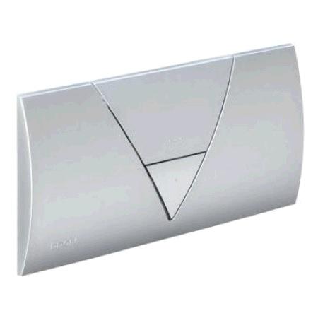 Кнопка Visign for Life 1 Viega 8310.1 для смыва, пластик, хромированная  265х135