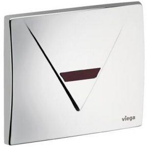 Кнопка Visign for Life 1 Viega 8128.3 для смыва, инфракрасный датчик, нержавеющая сталь, матовая