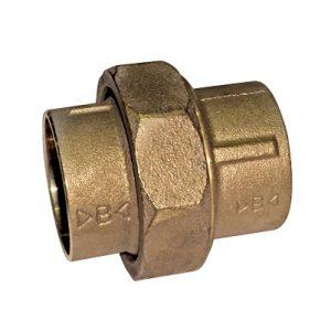 Разъемное соединение коническое, бронза, соединние пайка, IBP, артикул 4340