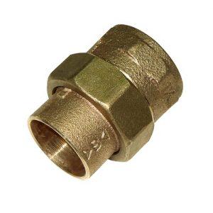 Разъемное соединение коническое, бронза, соединние пайка/ВРезьба, IBP, артикул 4340g