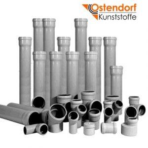 Канализационные трубы и фитинги OSTENDORF