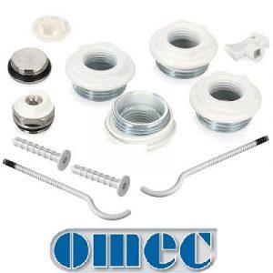 Комплектующие для радиаторов OMEC
