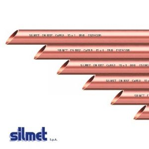 Трубы SILMET медные твердые