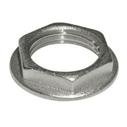 Контргайка, латунь никелированная, внутренняя резьба, SOBIME, артикул 49