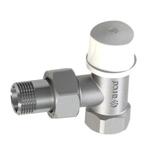 (AR)TEIDE 507210  Вентиль радиаторный нижний угловой, хром, Н/В 3/4″