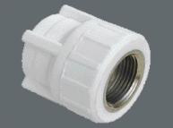 (AST) Муфта ППР комбинированная PN25 ВР (бел.)