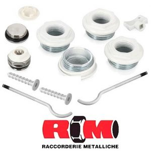 Комплектующие для радиаторов RM (Raccorderie Metalliche)