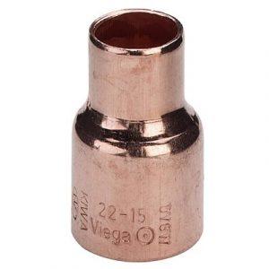 Муфта редукционная, медь, соединение под пайку, VIEGA, артикул 95240