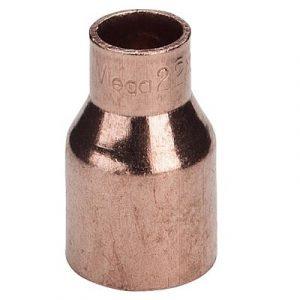 Муфта однораструбная, медь, соединение под пайку, VIEGA, артикул 95243