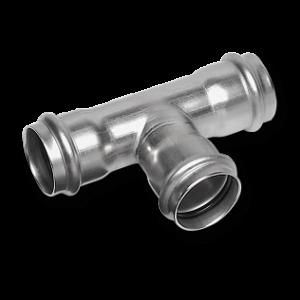 Пресс-фитинги из нержавеющей стали SANHA NiroSan® серия 9000 для стальных труб