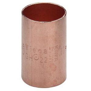 Муфта, медь, соединение под пайку, VIEGA, артикул 95270