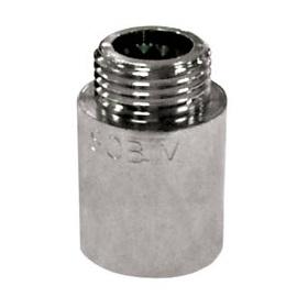 Удлинитель, латунь никелированная, наружная/внутренняя резьба, SOBIME, артикул 39
